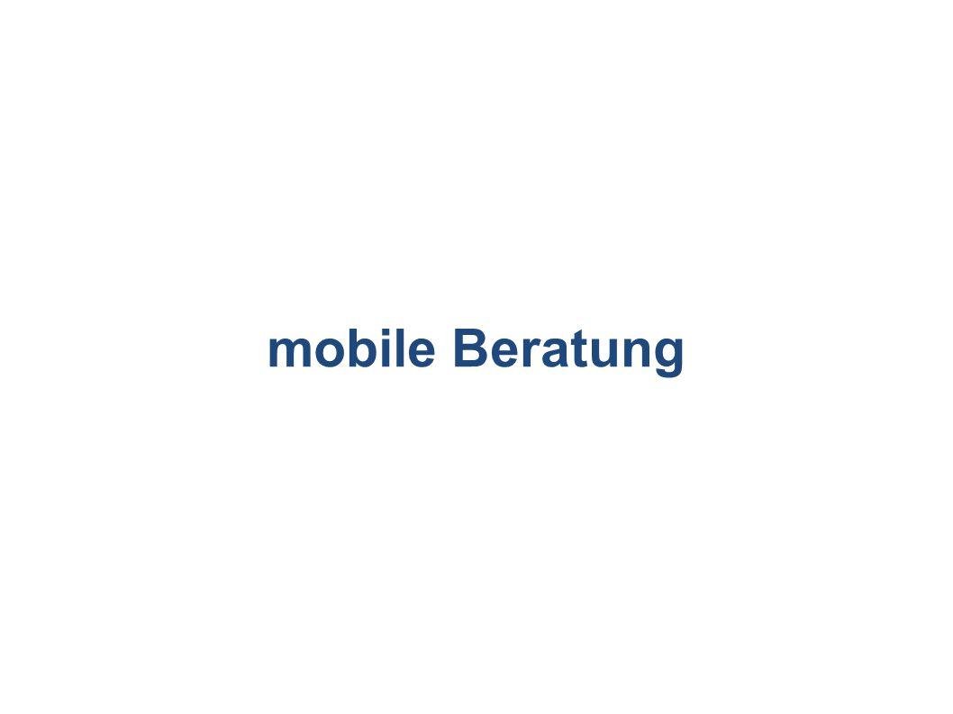 mobile Beratung
