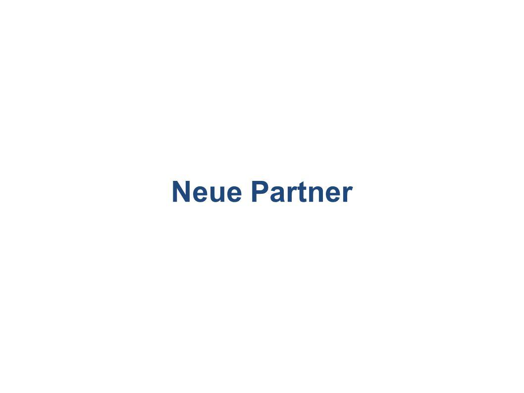 Neue Partner