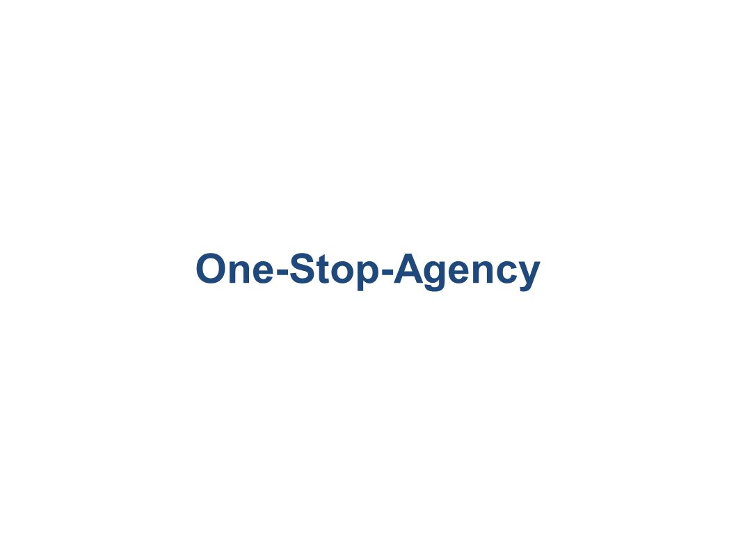 One-Stop-Agency
