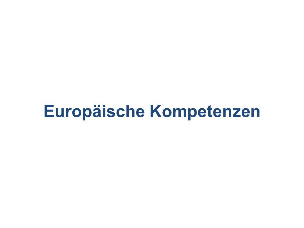 Europäische Kompetenzen