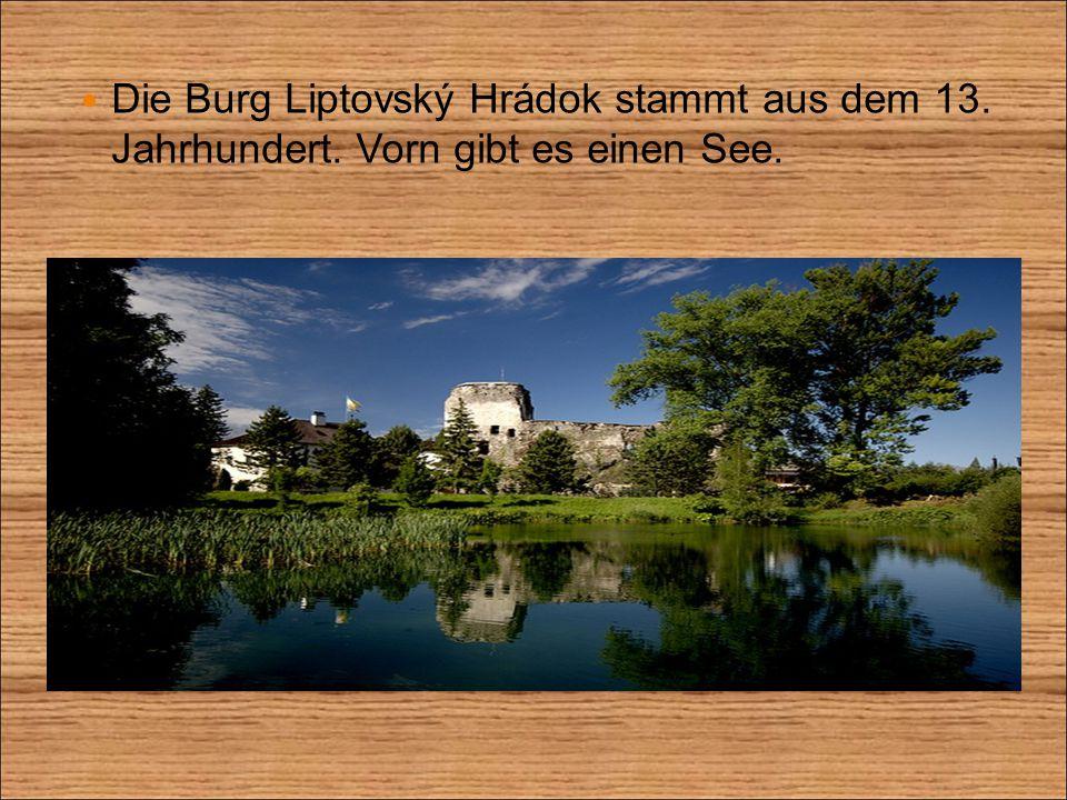 Hier ist ein höchstgelegene Arboretum in der Slowakei.
