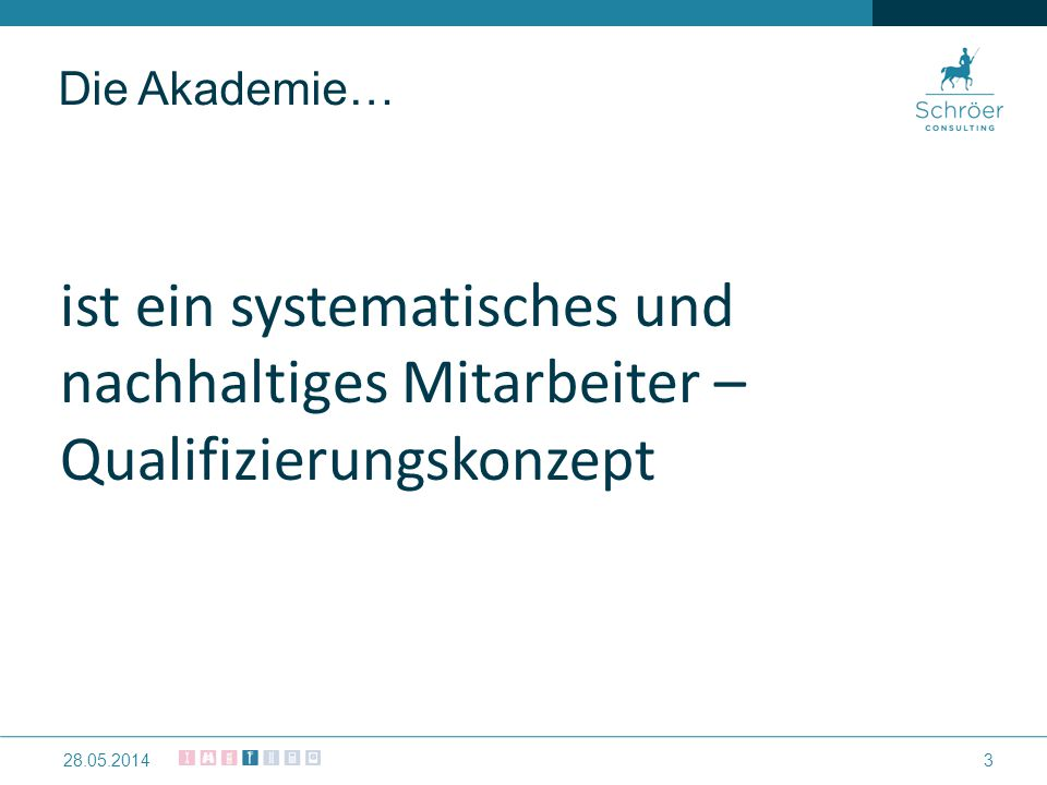 Die Akademie… erhöht die Mitarbeiterbindung 428.05.2014