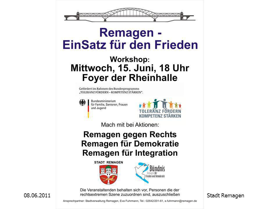 08.06.2011Stadt Remagen