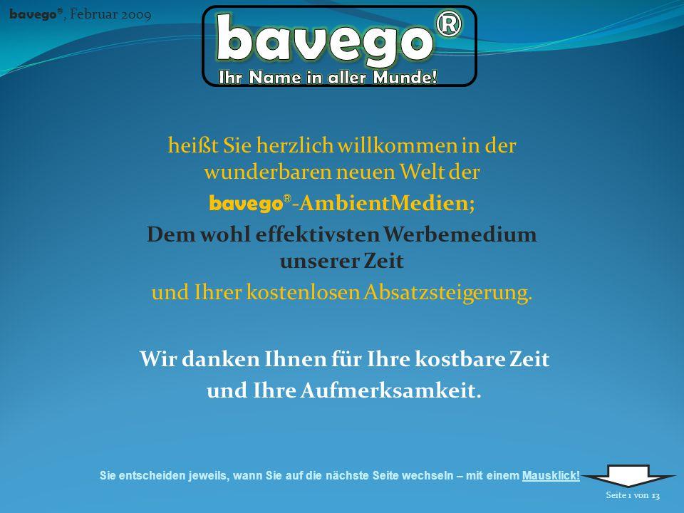 2 bavego ® wird mit seinen selbsthaftenden Tischdecken mit ansprechenden Designs als Plattform für Werbung und als Schutz für Tische (und ggf.