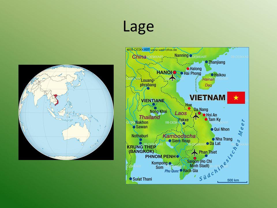 Geschichte Vietnams 1945 Unabhängigkeitsbewegung gegen Frankreich 1946-1954 Indochinakrieg 1964-1975 Krieg zwischen Nordvietnam und Südvietnam 1976 Sozialistische Republik Vietnam; Verelendung der Bevölkerung nach Krieg 1986 Erneuerungspolitik von Plan zu Marktwirtschaft