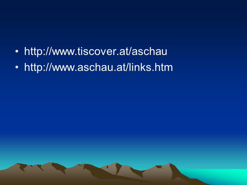 http://www.tiscover.at/aschau http://www.aschau.at/links.htm
