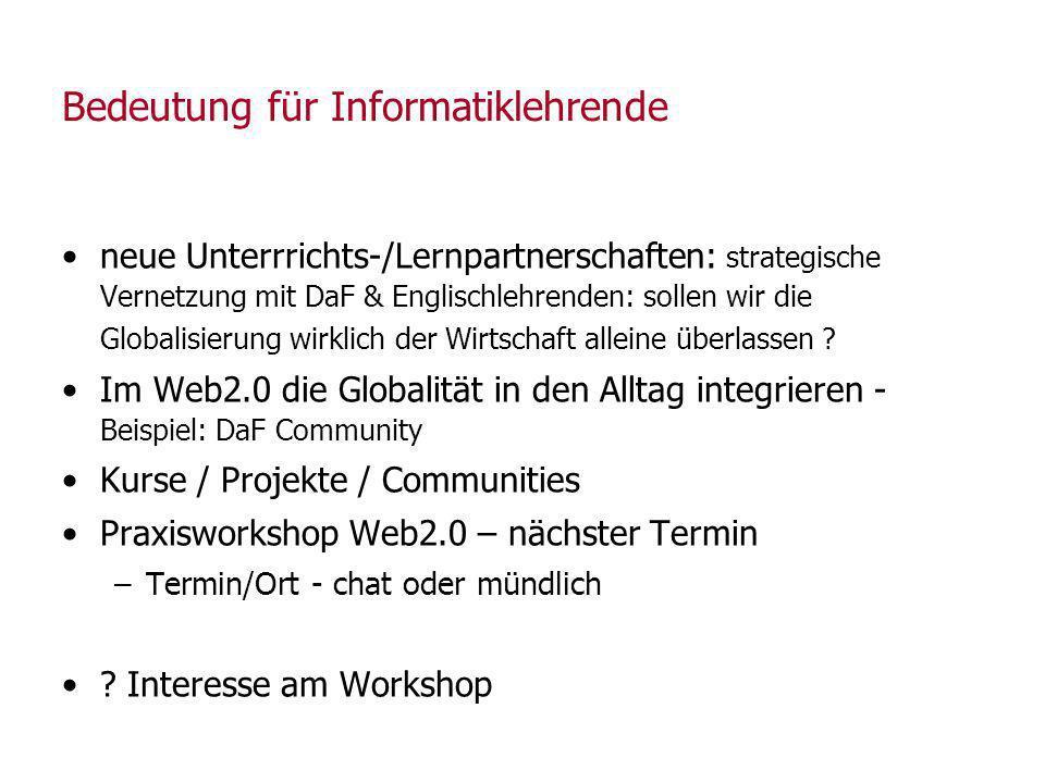 Weblog-Start