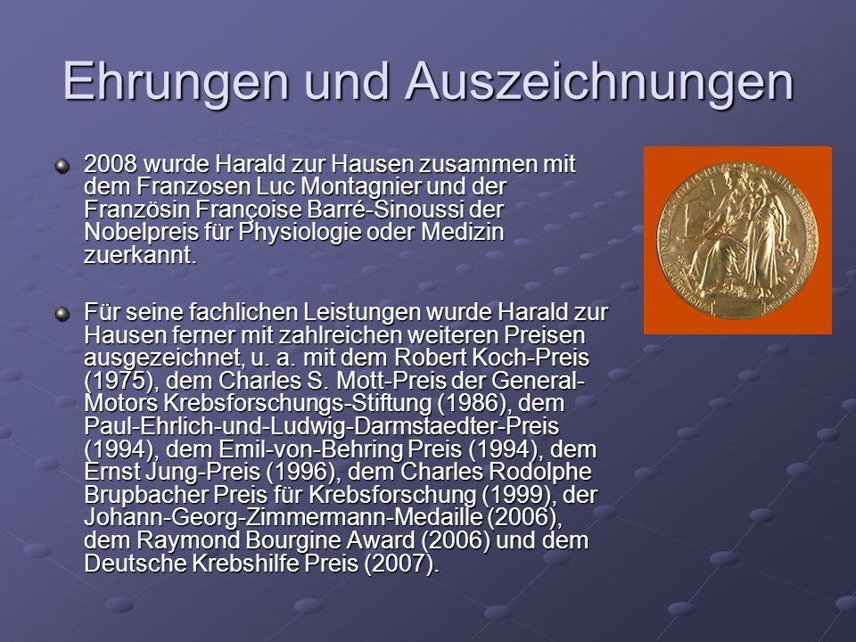 Außerdem wurde ihm die Ehrendoktorwürde der Universitäten Chicago (USA), Umeå (Schweden), Prag (Tschechien), Salford (England), Helsinki (Finnland), Erlangen- Nürnberg und Würzburg verliehen.