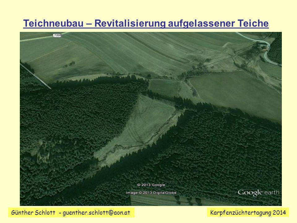 Günther Schlott - guenther.schlott@aon.at Karpfenzüchtertagung 2014 Geänderte Umweltbedingungen.