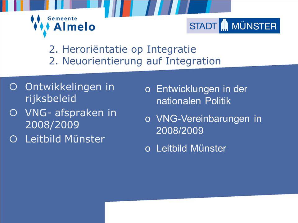 2.Heroriëntatie op Integratie 2.