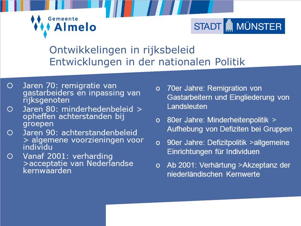 Rijksnota Zorg dat je erbij hoort.2007-2011 Nationale Note Sorg dafür, dass du dazu gehörst.