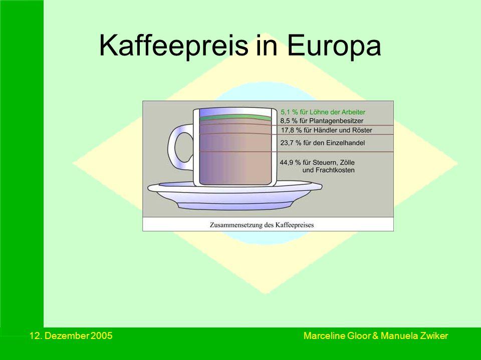 12.Dezember 2005 Kaffee –ihr Schicksal.