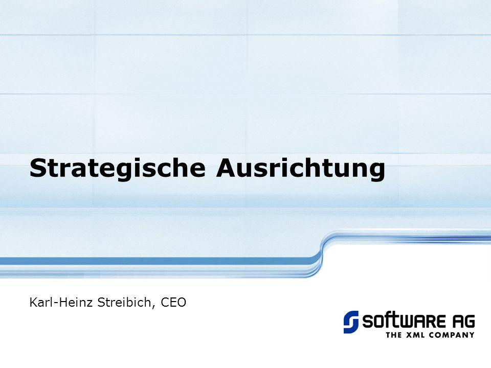 Strategische Ausrichtung Karl-Heinz Streibich, CEO