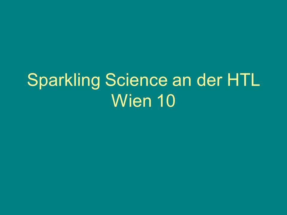 Sparkling Science an der HTL Wien 10
