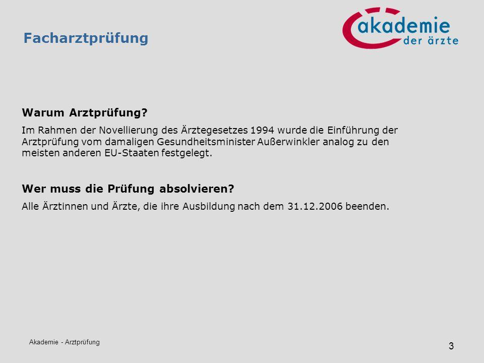 Akademie - Arztprüfung 14 Bestehensquoten, Kandidatenzahlen Tabelle: Facharztprüfungen 2002 - 2010 ALLE SonderfächerAntritteNeg.