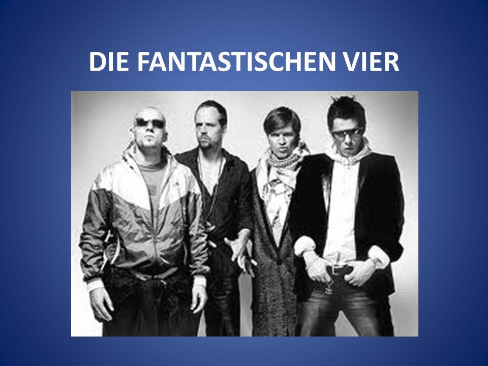 Die Fantastischen Vier, auch Fanta4, sind eine deutsche Hip-Hop-Band aus Stuttgart.