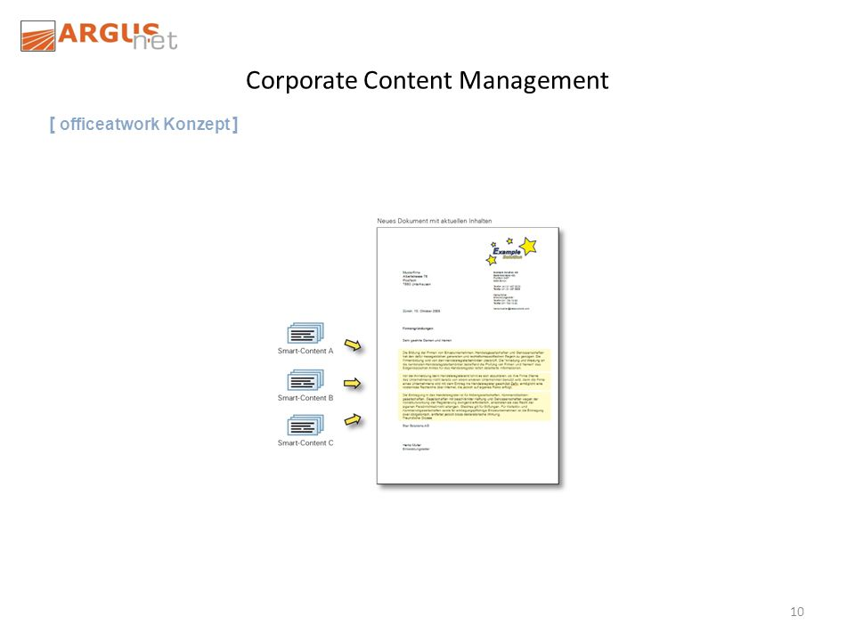 10 Corporate Content Management [ officeatwork Konzept ]