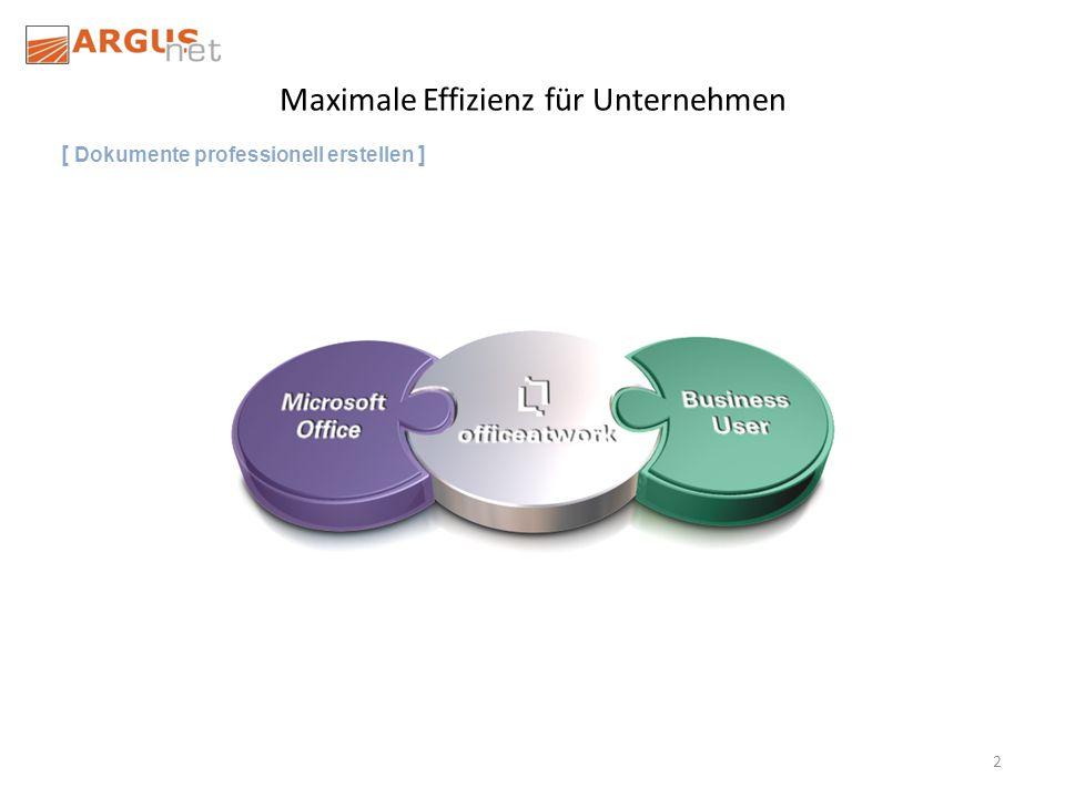 2 Maximale Effizienz für Unternehmen [ Dokumente professionell erstellen ]
