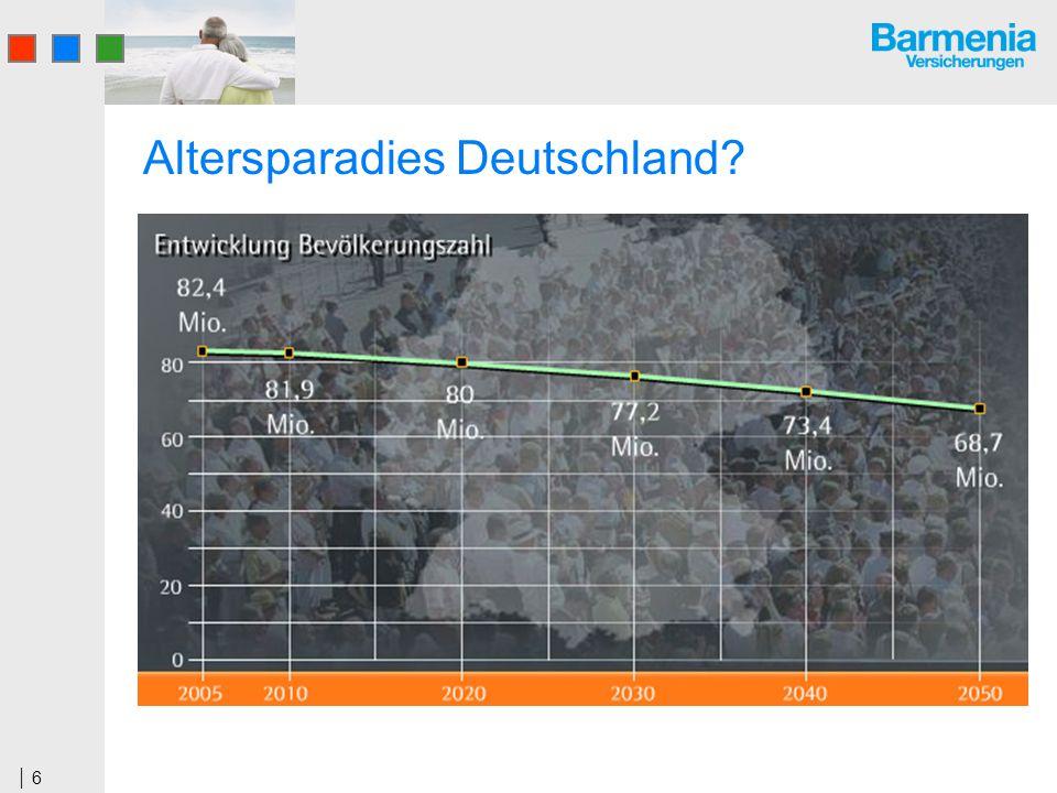 6 Altersparadies Deutschland?
