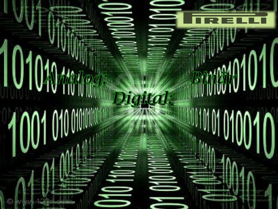 Allgemeine; Erläuterung Allgemeine; Erläuterung Analog Analog Digital Digital Binär Binär Anwendungsbereiche Anwendungsbereiche 28.05.20142Markus Dächert