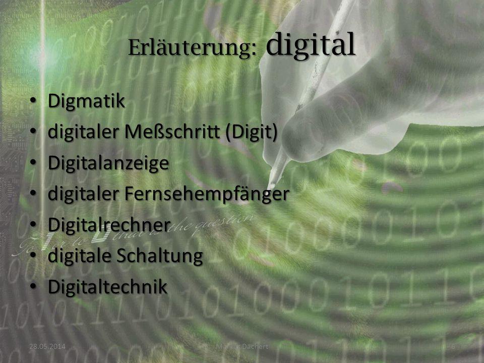 Digmatik Digmatik digitaler Meßschritt (Digit) digitaler Meßschritt (Digit) Digitalanzeige Digitalanzeige digitaler Fernsehempfänger digitaler Fernseh