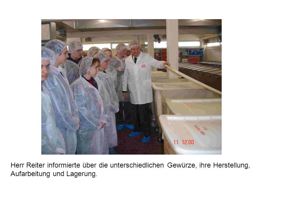 Auf Hygiene wird bei der Firma Scheid größten Wert gelegt.