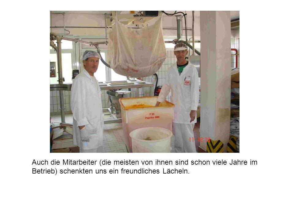 Convenience Food Manager Günter Wirth demonstrierte anschaulich die Anwendung von Marinaden bei Schweinefleisch.