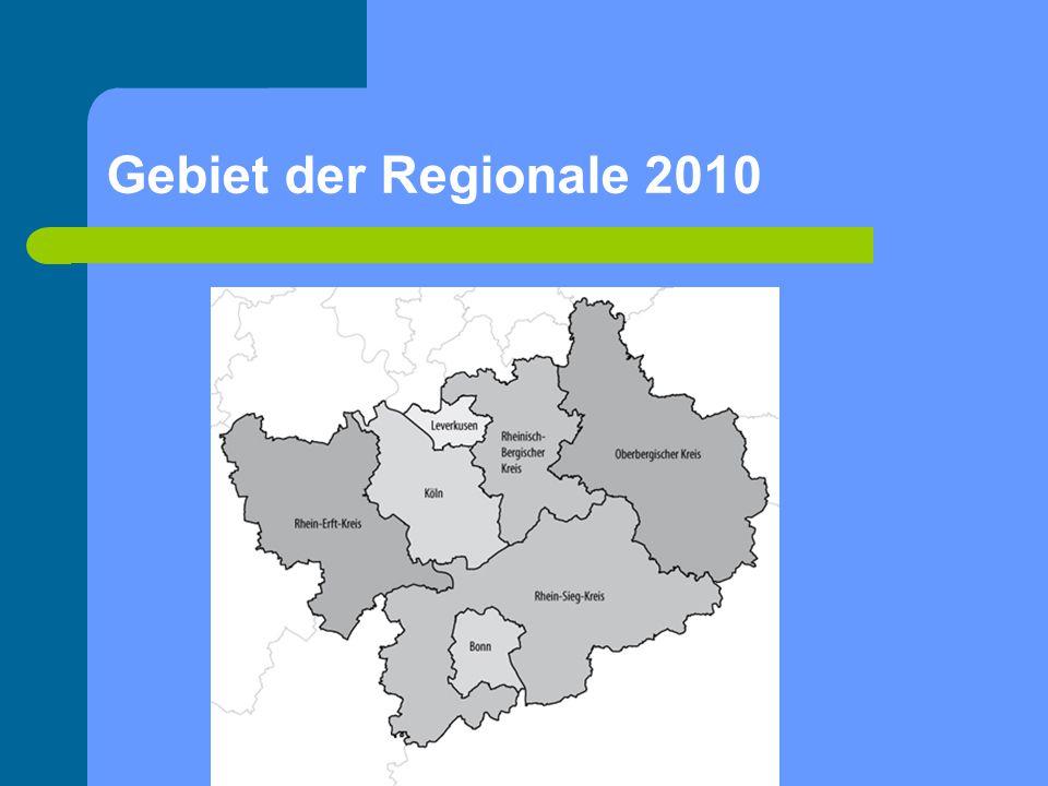 Gebiet der Regionale 2010