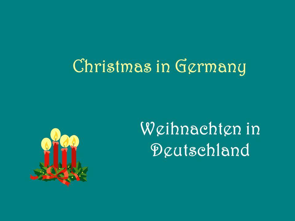 Christmas in Germany Weihnachten in Deutschland