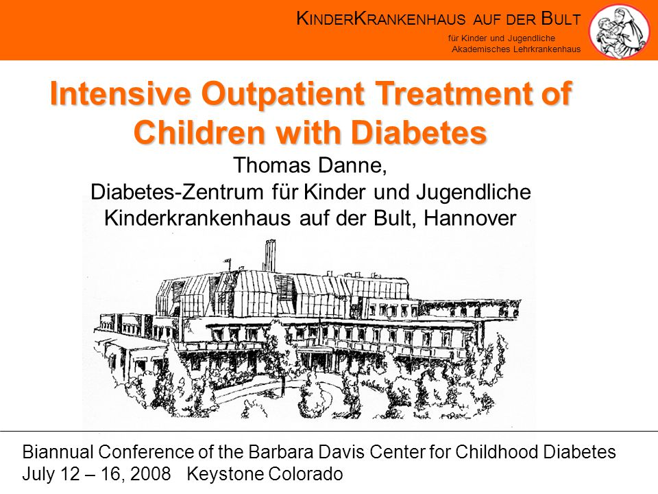 K INDER K RANKENHAUS AUF DER B ULT für Kinder und Jugendliche Akademisches Lehrkrankenhaus The new information with CGM: Hypoglycemia Comparison blinded FreeStyle Navigator vs.