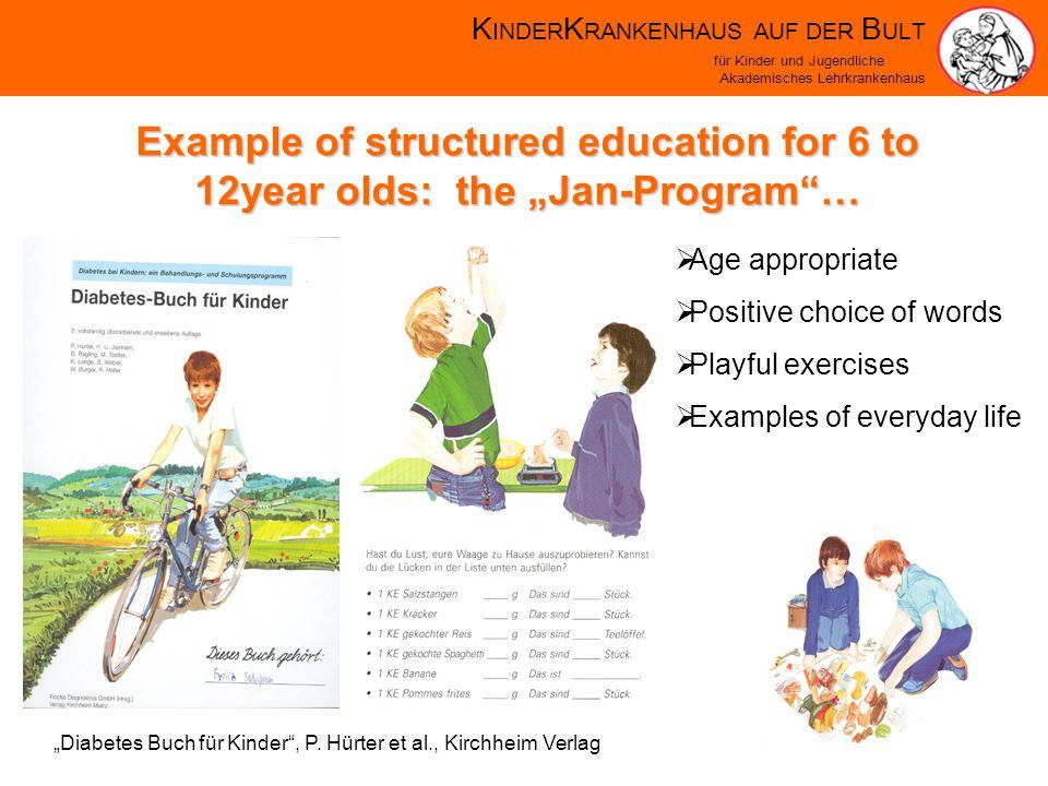 K INDER K RANKENHAUS AUF DER B ULT für Kinder und Jugendliche Akademisches Lehrkrankenhaus Diabetes Buch für Kinder, P.