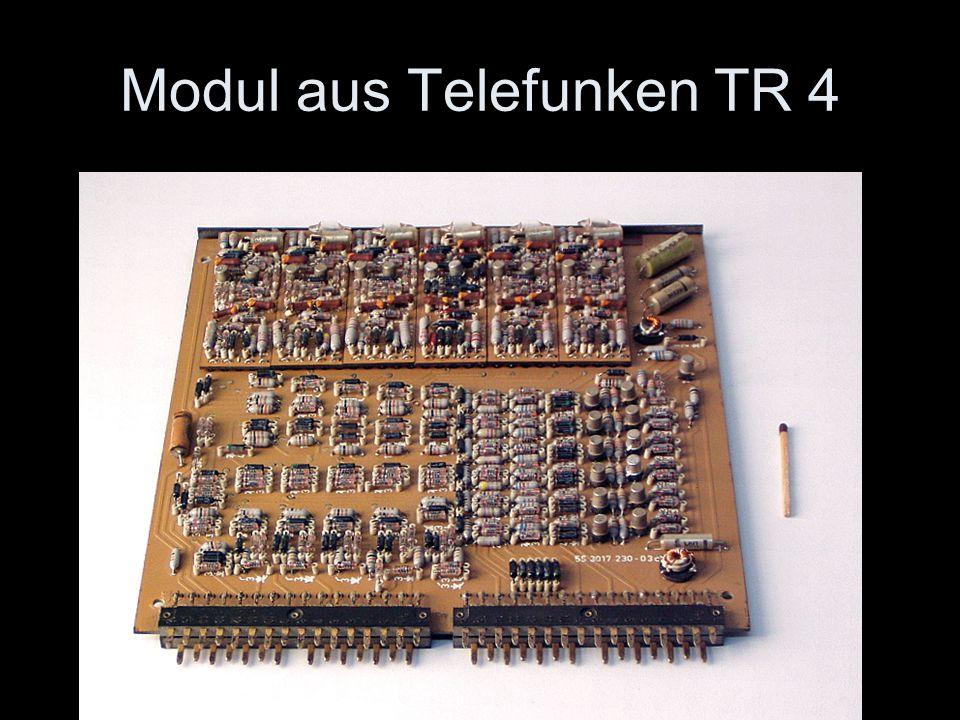 Modul aus Telefunken TR 4