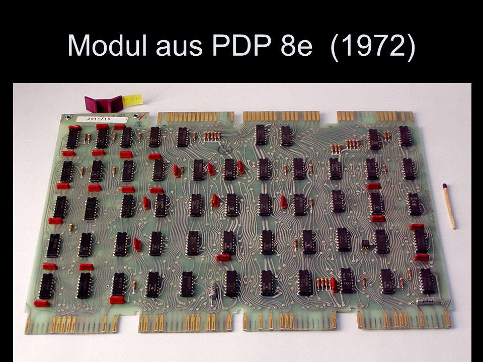 Modul aus PDP 8e (1972)
