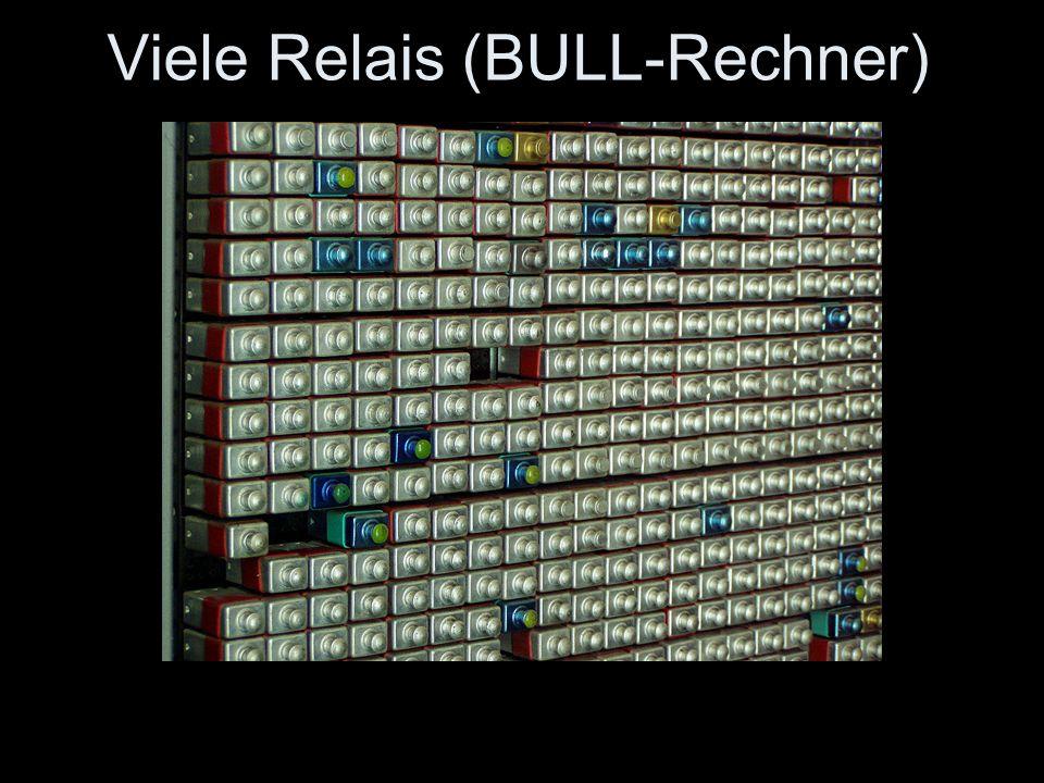 Viele Relais (BULL-Rechner)