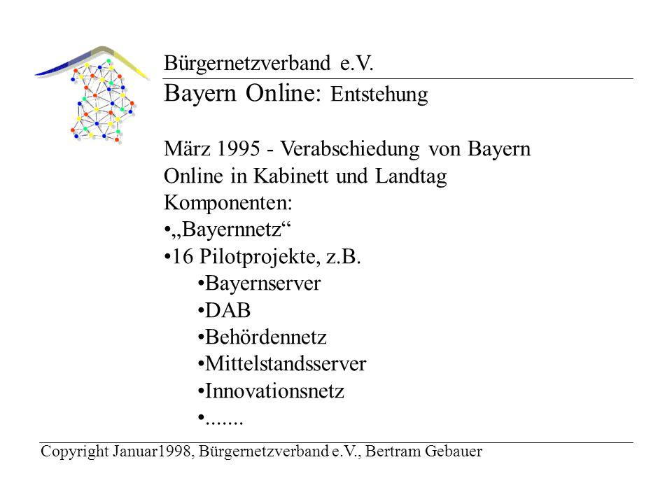 Bürgernetzverband e.V.Philosophie des Bürgernetzes: Wieviel Aufwand ist erforderlich.