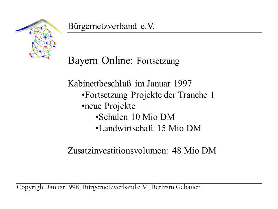Bürgernetzverband e.V.Philosophie des Bürgernetzes: Nutzen erhöhen - Kosten senken.