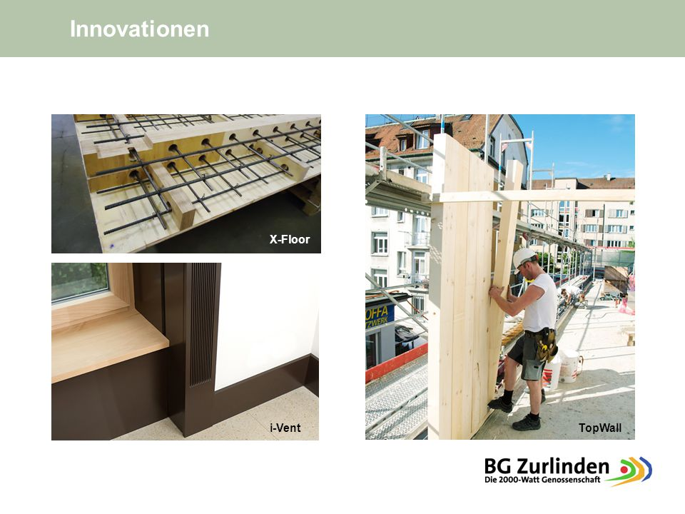 X-Floor i-VentTopWall Innovationen