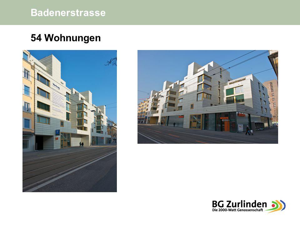 Badenerstrasse 54 Wohnungen