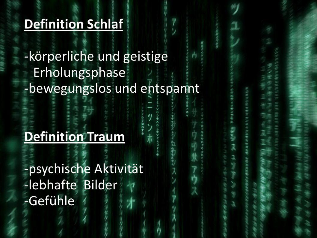 Matrix, der Traum des eigenen Lebens