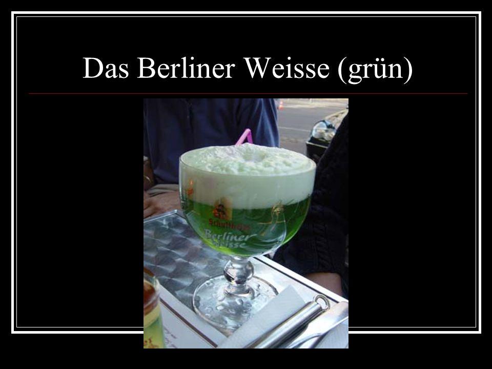 Das Berliner Weisse (grün)