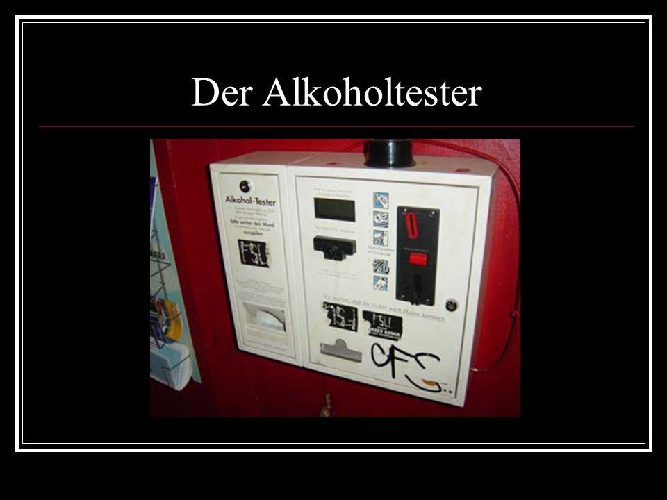Der Alkoholtester