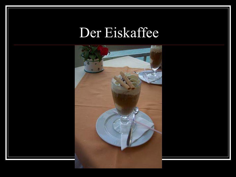 Der Eiskaffee