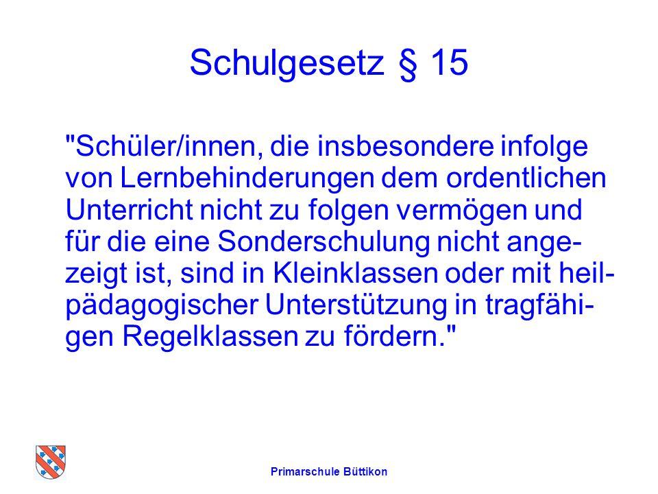 Schulgesetz § 15