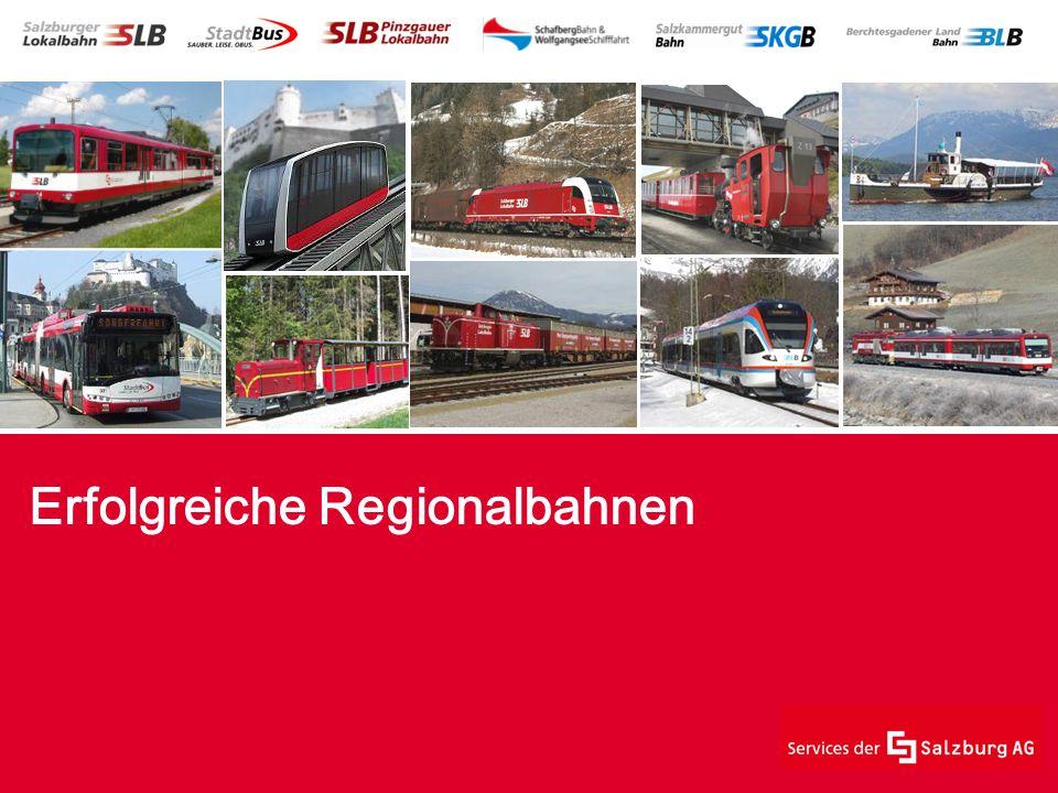 Erfolgreiche Regionalbahnen