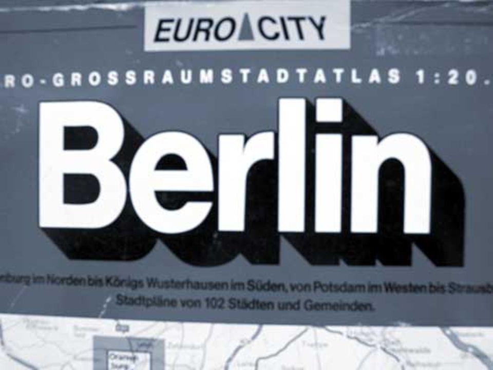 Berlin ist Hauptstadt der BRD. 1989 – wurde Berlin zur Hauptstadt der BRD.