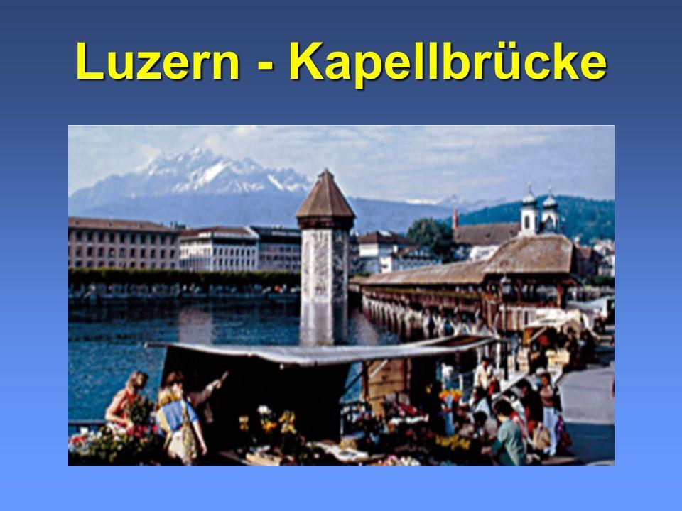 Luzern - Kapellbrücke