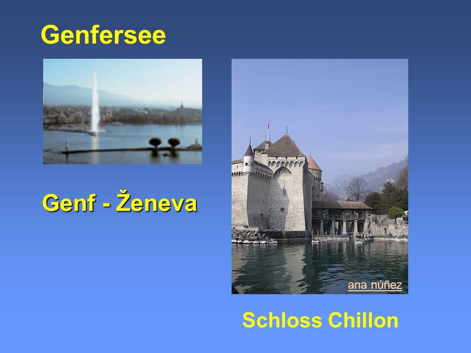 Genf - Ženeva Genfersee ana núñez Schloss Chillon
