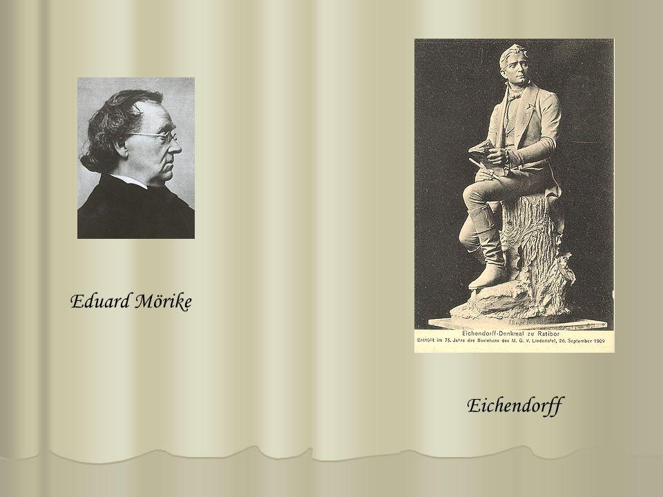 Eichendorff Eduard Mörike