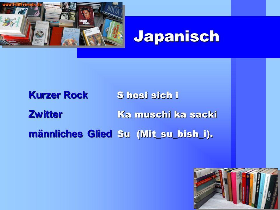 Japanisch Kurzer Rock S hosi sich i Zwitter Ka muschi ka sacki männliches Glied Su (Mit_su_bish_i).