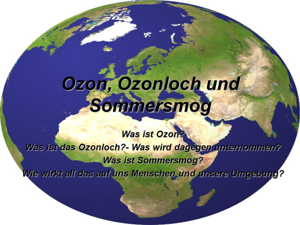 Ozon - Entstehung